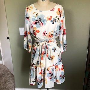 Jane and Delancey Floral Dress